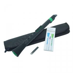 Nuvo NUBO430BGR Dood Flute 2.0, flet prosty C, czarno-zielony