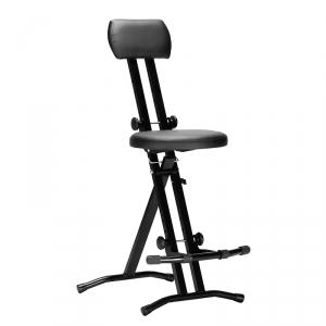 Stim ST05 krzesło dla gitarzysty, klawiszowca ST-05, czarne