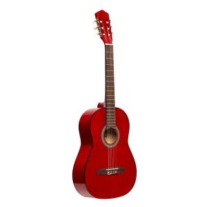 Stagg SCL50 3/4 RED gitara klasyczna, kolor czerwony