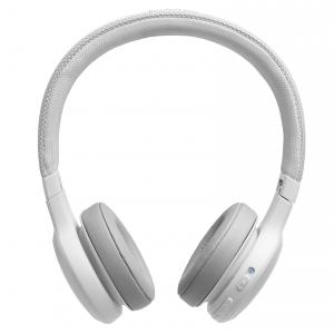 JBL Live 400BT WHT słuchawki bezprzewodowe nauszne, kolor biały