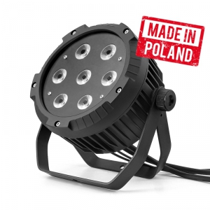 Flash Pro LED PAR 64 7x10W RGBW Alu Cast -IP65- Mk2 -  (...)