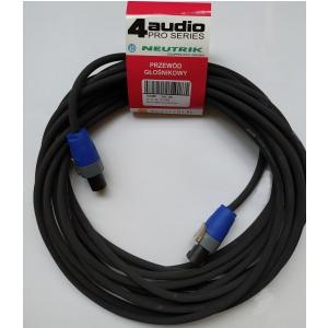 4Audio LS2250 10m przewód głośnikowy 2x2,5mm ze speakonem
