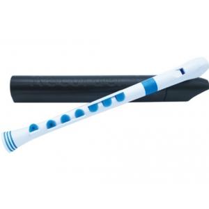 Nuvo NURG320WBL, flet prosty C, biało-niebieski