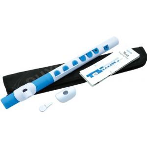 Nuvo NUTO430WBL Toot Flute, flet poprzeczny C, biało-niebieski