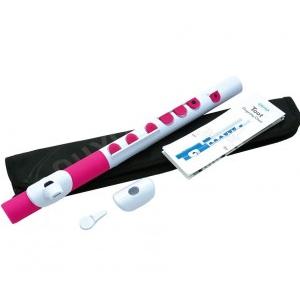 Nuvo NUTO430WPK Toot Flute, flet poprzeczny C, biało-różowy