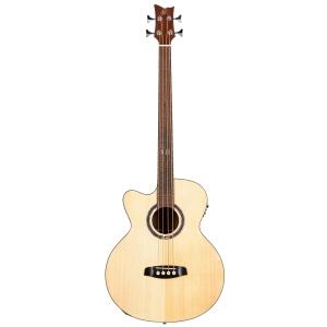 Ortega D538-4-L gitara basowa akustyczna, leworęczna