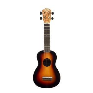 Baton Rouge UR1S MSB ukulele sopranowe, Matt Sunburst