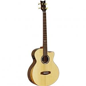 Ortega StripeDSU-ACB gitara basowa akustyczna