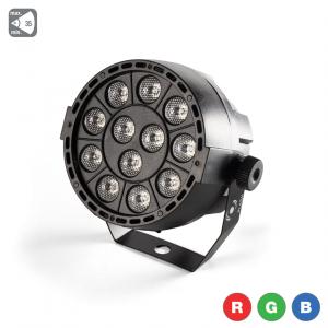 Flash LED PAR 36 12x3W RGB reflekor LED