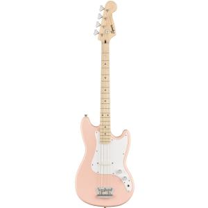 Fender Squier FSR Affinity Bronco Bass MN Shell Pink gitara basowa