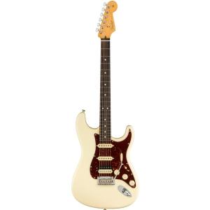 Fender American Professional II Stratocaster HSS Rosewood Fingerboard, Olympic White gitara elektryczna