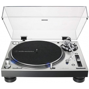 Audio Technica LP140XP SV gramofon, kolor srebrny