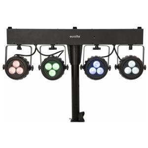 Eurolite KLS-120 - kompaktowy  zestaw oświetleniowy LED