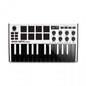 AKAI MPK Mini 3 White klawiatura sterująca USB/MIDI