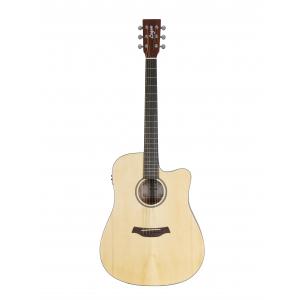 Logan Dreadnought EQ CE gitara elektroakustyczna z cutaway  (...)