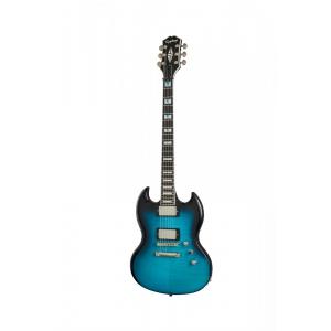 Epiphone SG Prophecy Blue Tiger Aged Gloss gitara  (...)