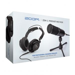 ZooM ZDM1-PMP zestaw akcesoriów do podcastów do PodTrak 4