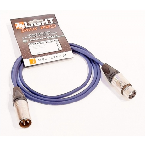 MLight DMX Pro 1 pair 110 Ohm 1,5m przewód DMX 3-pin XLR  (...)