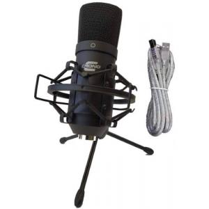 Crono Studio 101 USB BK mikrofon wielkomembranowy -  (...)