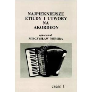 AN Niemira Mieczysław Najpiękniejsze etiudy i utwory na akordeon cz. I