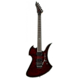 BC Rich Mockingbird Extreme Exotic Floyd Rose Quilted Maple Top Black Cherry gitara elektryczna