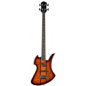 BC Rich Heritage Classic Mockingbird Bass Quilted Maple Top Tobacco Burst gitara basowa