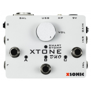 XSonic XTone Duo Smart Guitar & Mic interface audio