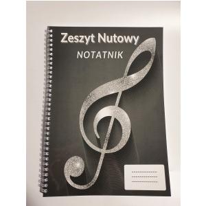AN Zeszyt do nut/notatnik  A4, 100 stron