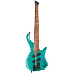 Ibanez EHB1005SMS-EMM Short Multiscale Emerald Green Metalic Matt gitara basowa 5-str. typu headless, short scale