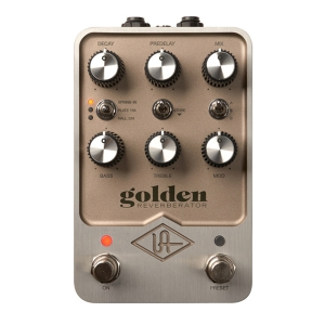 Universal Audio Golden Reverb Pedal - Profesjonalny  (...)