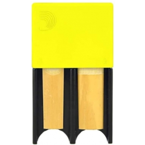 Rico DRGRD4-ACYL Reed Guard, etui ochronne na stroiki do saksofonu altowego, klarnetu (żółte)