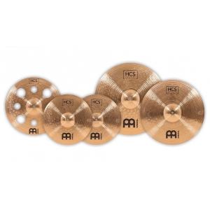 Meinl HCS Bronze Deluxe Set 14 16 18 20 zestaw talerzy perkusyjnych