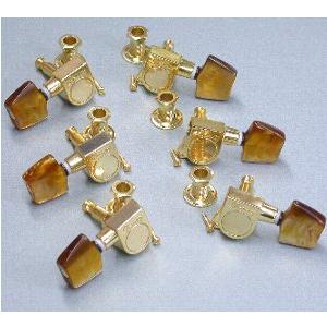 Ibanez 5AMH18J zestaw kluczy STAS goldAW28/15/85 brown P. PL. knob