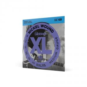 D′Addario EXL 115 struny do gitary elektrycznej 11-49