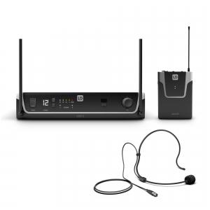 LD Systems U306 BPH - Mikrofon bezprzewodowy nagłowny, 655- 679 MHz