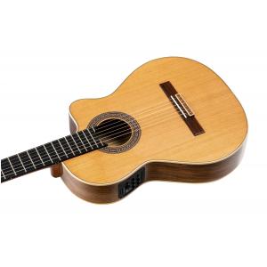 Ortega BWSM/2 Ben Woods Signature gitara elektroklasyczna z pokrowcem