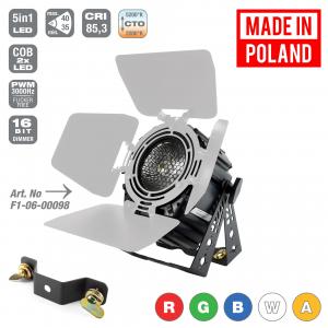 Flash Pro LED PAR 64 300W 5in1 COB RGBWA VINTAGE SHORT +  (...)
