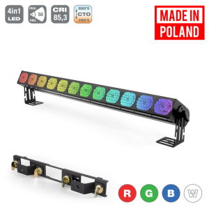 Flash Pro LED WASHER 12x30W RGBW 4in1 COB VINTAGE SHORT 12  (...)