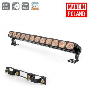 Flash Pro LED WASHER 12x30W WHITE 4in1 COB VINTAGE SHORT  (...)