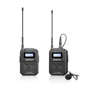 BOYA BY-WM6S zestaw bezprzewodowy z mikrofonem krawatowym  (...)
