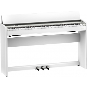Roland F 701 WH pianino cyfrowe, białe