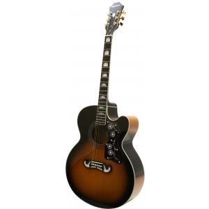 Epiphone EJ200 SCE VS Vintage Sunburst gitara  (...)
