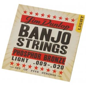 Dunlop Banjo DLP1015 struny do banjo 5-strunowego