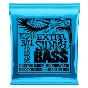 Ernie Ball 2835 NC Extra Slinky Bass struny do gitary  (...)