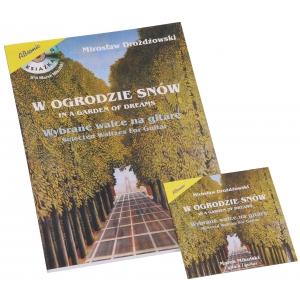 AN Drożdżowski Mirosław W ogrodzie snów - wybrane walce na gitarę + CD