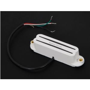 Seymour Duncan SHR 1N WH Strat Hot Rails przetwornik do gitary elektrycznej do montażu przy gryfie, kolor biały