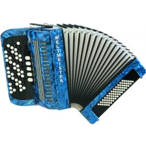 Weltmeister Romance 603  60/72/III/5 akordeon guzikowy  (...)