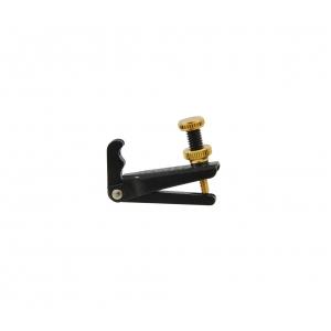 Wittner 902-064 mikrostroik skrzypcowy 4/4 (czarny ze złota śrubką)