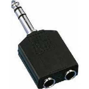 Monacor NTA-198 przejściówka  2 x JackD (stereo) -> JackD  (...)