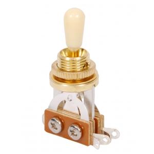 Boston SW 23 GI przełącznik 3 pozycyjny LP gold/ivory